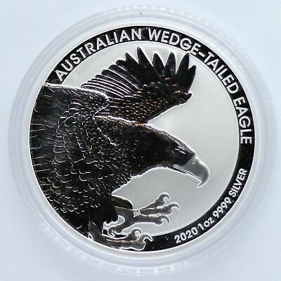 2020 Australian Wedge-Tailed Eagle 1 oz Silver $1 9999 Coin Australia - LF731