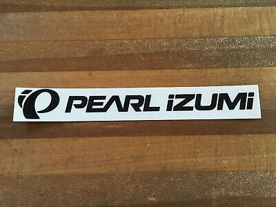 "Pearl Izumi /""Absolute Power/"" red//black rectangle Sticker Decal"