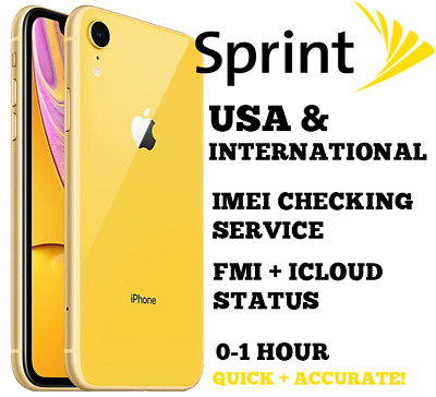 Sprint PRO iPhone Checking Blacklist / Barred / Unpaid (SPCS: YES / NO) 0-1 Hr