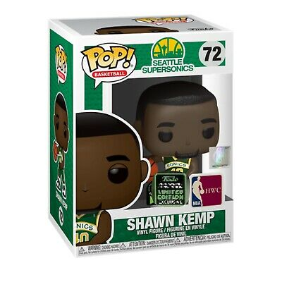 Funko Pop! Shawn Kemp ECCC Shared Exclusive NBA Preorder + Protector