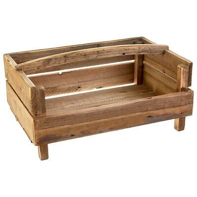 "Raz Imports Farm To Table 19"" Handled Crate"