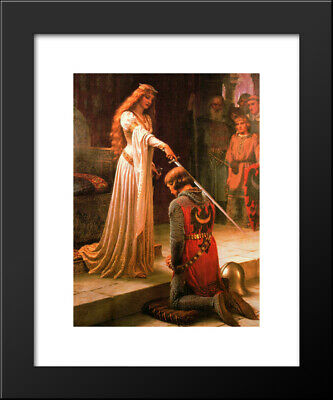 The Accolade Dubbing Edmund Blair Leighton Knights Templar Canvas Print Poster