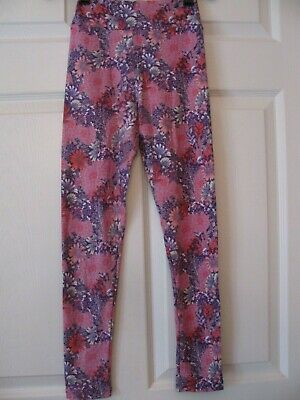 LulaRoe Tween Leggings New NWOT Pink Purple Stretch Pants Teen Girls