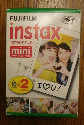 Fujifilm Instax Mini 10x2 Shots Film ISO 800 Date On Box 2019-06
