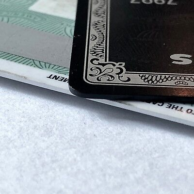 TWO PERSONALIZED collectible black card in 12 hours or less. blackcard titanium