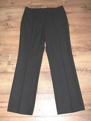 New Women's Talbots Heritage Wool Blend Stretch Black Dress Pants Size 10