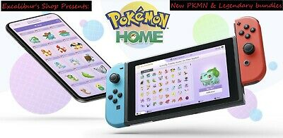 POKEMON HOME: ANY NEW 6IVs SHINY & LEGIT LEGENDARIES W/ MB. Pokemon Sword&Shield