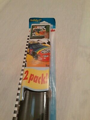 NASCAR Safety 1st Roller car window shade 2 pack new in box