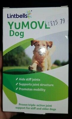 Lintbells YM60 Yumove Joint Support Supplement for Dogs 60 Tablets