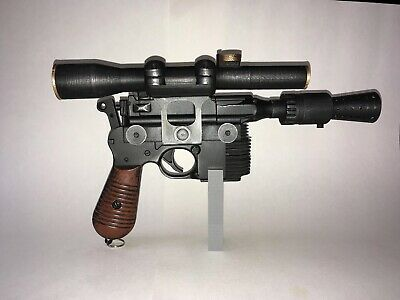 Han Solo blaster kit - Airsoft Firing- With Instructions. DIY. Safety Tip.