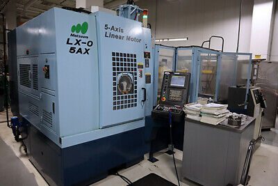 Matsuura Lx-0 5Ax 5-Axis Machining Center Incl. Robot And Tooling Package
