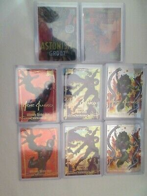 2016 Marvel Masterpieces Tier 1 2 3 Base GS What-If Achievements LOT 8 cards