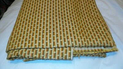Awesome RARE Vintage Mid Century Retro 70s Yellow Pink Green Fabric! WOW