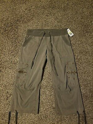 XCVI cropped cargo pant Edelweiss size M NWT