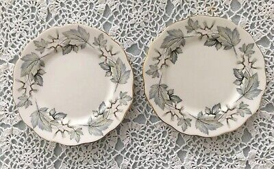 Royal Albert Silver Maple Bread & Butter Plates, Set Of 2