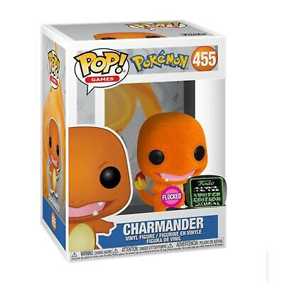 Funko Pop! Charmander  Flocked 2020 ECCC SHARED Exclusive Preorder + Protector