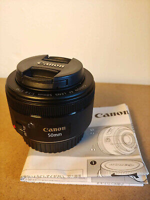 Canon EF 50mm f/1.8 STM Lens - Boxed and Barely Used