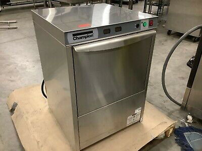 CHAMPION UH130B Stainless Steel Commercial Dishwasher