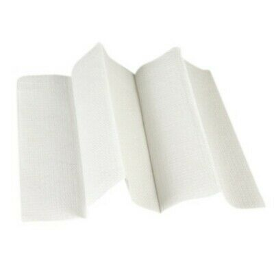 NEW 250mm - 50mm (fold) - White Slimlined  Interleaved Towels - CTN
