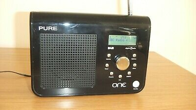 Pure One Dab / Fm Digital Portable Radio & Mains Cable