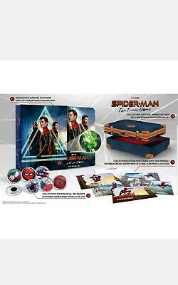 Spider-Man Far From Home 4K Ultra HD Rare Collectors Edition Blu-ray