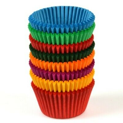 NEW Coloured Paper Patty Pans - 68mm - 25mm - PACKET(500) - Kent Paper