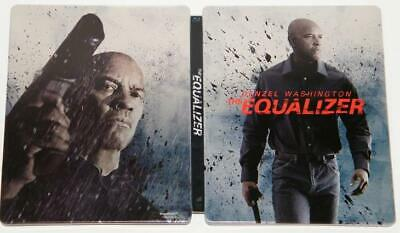 The Equalizer Steelbook, Blu ray 1 disc (without bonus disc)