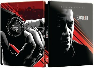 The Equalizer II Steelbook, Blu ray 1 disc (without bonus disc)