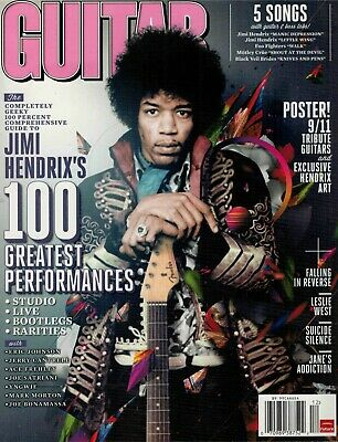 GUITAR WORLD Magazine - JIMI HENDRIX Edition - DECEMBER 2011 - with POSTER !!!