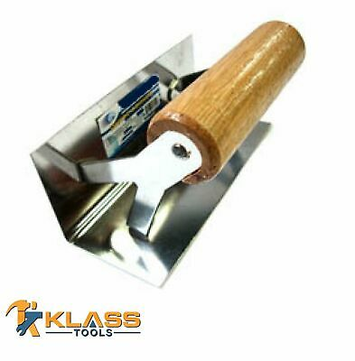 "5/"" X 20/"" Masonry and Plaster Finishing Trowel with TPR Handle by KlassTools"