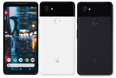 Google Pixel 2 XL 64GB 128GB - Unlocked Verizon AT&T Sprint T-Mobile Smartphone