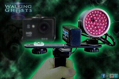 IR Light Mount Accessory Bar/Rig & Mini Tripod Set for  Night Vision Camera UK