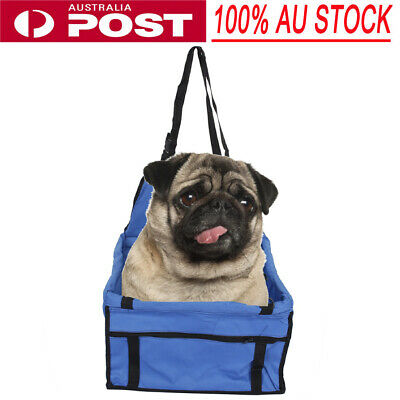 Puppy Pet Car Booster Seat Foldable Safe Protector Travel Carrier Basket AU SHIP