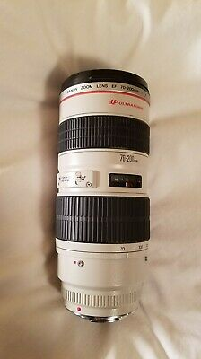 Canon EF 70-200mm f/2.8L ultrasonic zoom lens refurb/for parts *SEE DESCRIPTION*