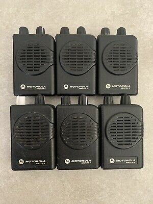 Motorola Minitor V (5) 1CH Stored Voice VHF Pager