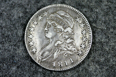 Estate Find 1811 Capped Bust Half Dollar  #D22190