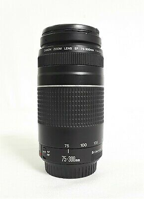 Canon Zoom Lens EF 75-300 mm 1:4-5.6 III Automatic/Manual Focus #6584