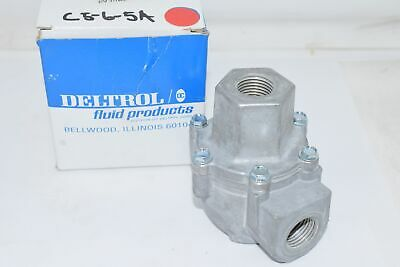 NEW Deltrol 10122-61 (EV30A2) 1/2'' Inlet Quick Exhaust Valve