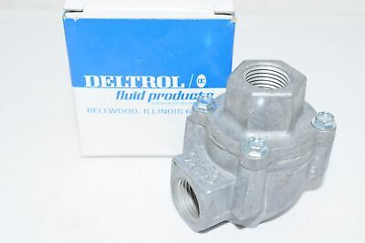 NEW DELTROL FLUID PRODUCTS 10122-70 Pneu-Trol Quick Exhaust Valve