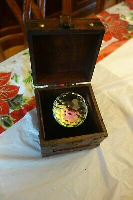Badali Jewelry Lord of the Rings Hobbit Arkenstone with Wood box