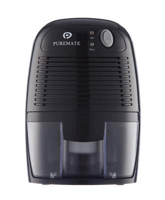 PureMate 500ml Compact and Portable Mini Air Dehumidifier for Damp, Mould, and