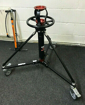 Cambo VPS-1 Pedestal with 100mm bowl, and VPD-9 Dolly
