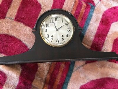 COLLECTIBLE SETH THOMAS CLOCK Co. THOMASTON, CONN EST.1813 PENDULUM, KEY, GONG