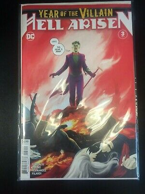 YEAR OF THE VILLAIN HELL ARISEN 3 2nd second print First app Punchline SHIPS 3/4