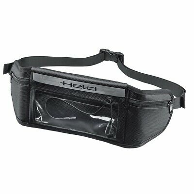 Held Moto Motorcycle Hip Belt With Waterproof Smartphone Compartment Black