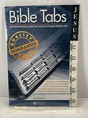 Bob Siemon Designs Bible Tabs- Jesus