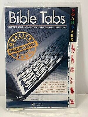 Bob Siemon Designs Bible Tabs- Noah's Ark