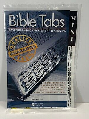 Bob Siemon Designs Bible Tabs- Mini
