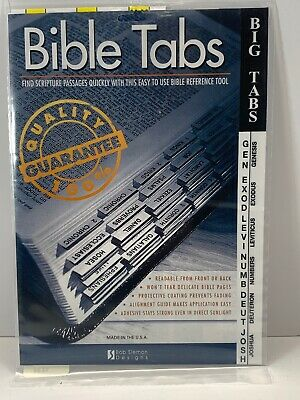 Bob Siemon Bible Tabs- Big Tabs