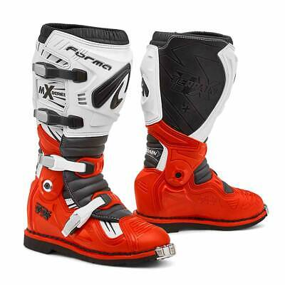 motocross boots | Forma Terrain TX pivot tech white red mx offroad motorcycle sg